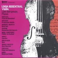 Favorite Violin Encores: Linda Rosenthal, Violin Lisa Bergman, Piano