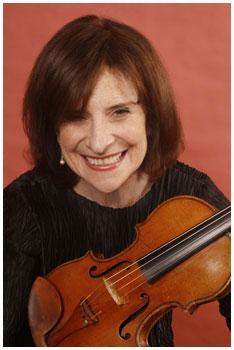 Linda Rosenthal, Violinist from Juneau Alaska