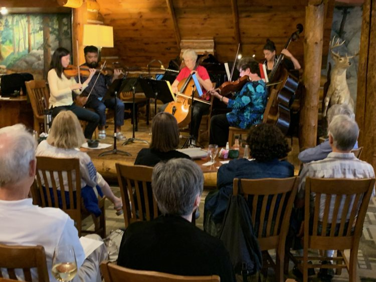 Playing Stohr String Quartet
